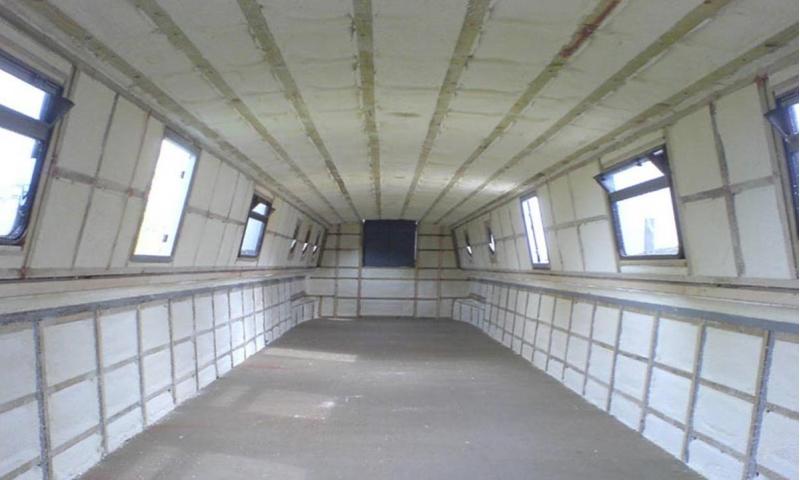 Barge Spray Foam Insulation